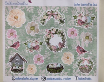 Easter Garden Decorative Stickers