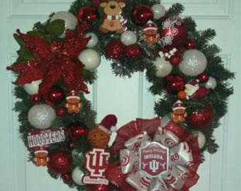 School specific wreath or gift