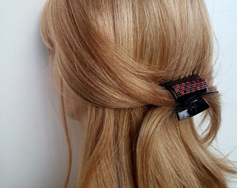 Crystal Hair Clip Black Hair Claw Clip  Rhinestone Hair Clip Hair Jaw Clip Hair Clamp Hair Clip Claw