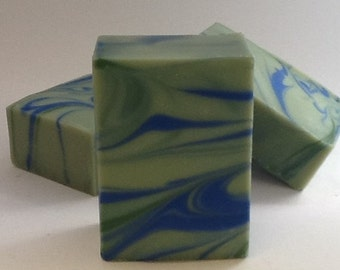 Eucalyptus Spearmint Goat milk soap/bar soap/moisturizing soap