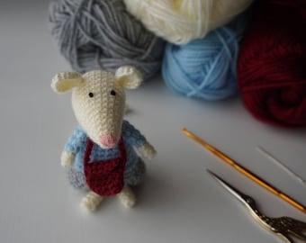 Rat Handmade Crochet Agurumi