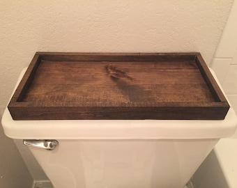 Wood Toliet Tray
