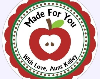 From the Kitchen or Made For You Labels, Stickers - Personalized for YOU