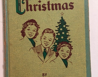 The Baer's Christmas Book  Journal Vintage Book 1945 Rare