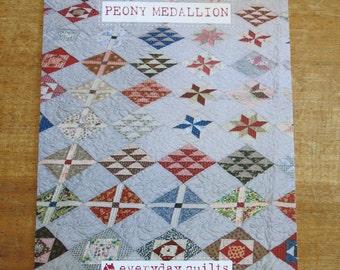 sb 'Peony Medallion' quilt pattern
