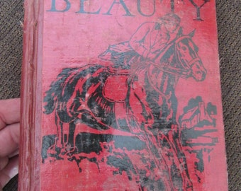 Black Beauty by Anna Sewell 1927 Free Shipping