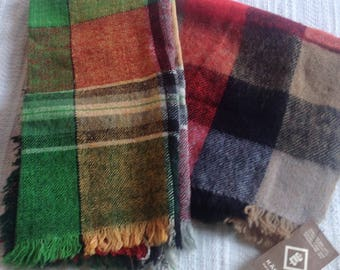 Handwoven scarf and shawl