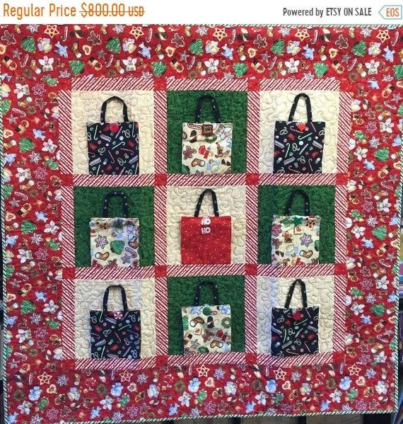 Hot Summer Sale Christmas Shopping 48x48 inch art quilt