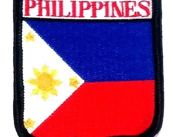 Philippines Embroidered Patch