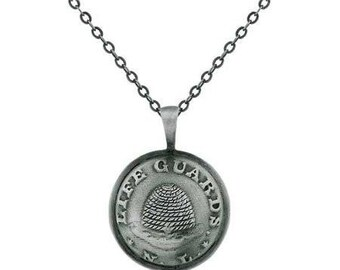 Necklace Nauvoo Legion Button Silver - J23