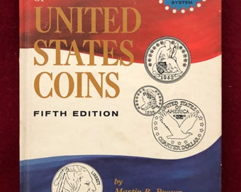 A Guide to the Grading of US Coins by Brown & Dunn/5th Ed. 1969/206 pages/Hardback/Free SH to US/Great Condition#611