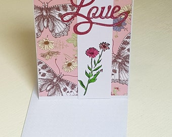 Gift Card For Her - Valentine Love you Card
