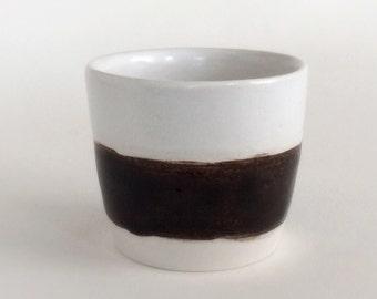Espresso cup, handmade, ceramic, minimalist