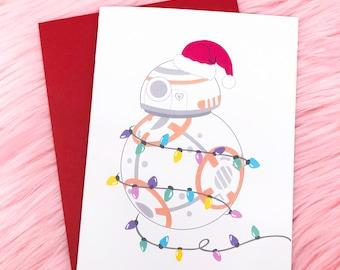 BB8 Holiday - Card