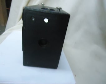 Vintage Premo Junior 1-A Black Box Camera, collectable