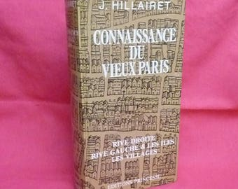 """Knowledge of old Paris"" Book 1956 - J.Hillairet"