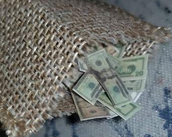 Miniature Dollar Dollar Bills Y'all!