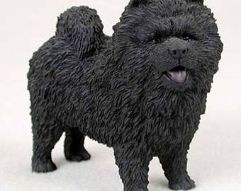 Custom Painted Chow Chow Dog Figurine