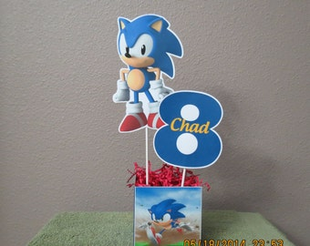 Sonic the Hedgehog Centerpiece (DIY)