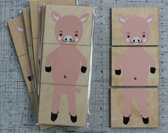 Aimant de cochon // Pig magnets