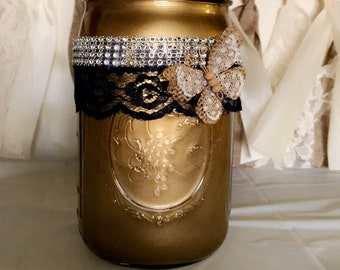 ButterflyGold Mason Jar