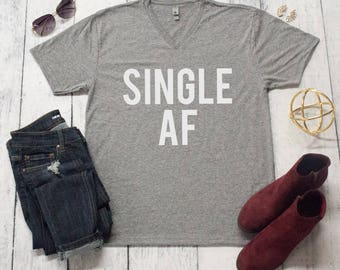 Single AF V-Neck Graphic Tee..WP.16.17 A-E
