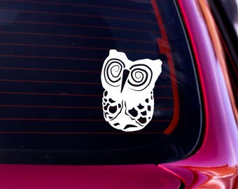 Owl Decal, Owl Car Decal, Owl Sticker, Nature Decal, Laptop Decal, Vinyl Decal, Car Window Decal, Water Bottle Decal, Car Decal