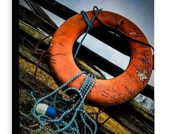 Life Preserver Canvas - Jessica Mason Photography