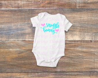 Snuggle Bunny Graphic T-shirt