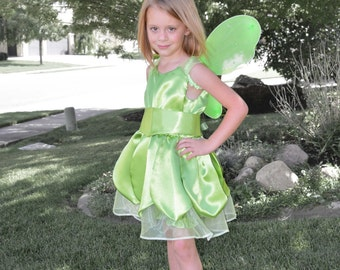 Tinkerbell Costume Dress, Girls