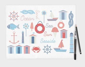 Seaside Clipart