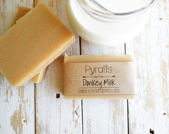 Donkey Milk Soap, Milk Soap, Sensitive Skin Soap, Moisturizing Soap, Psoriasis Soap, Organic Soap, Cold Process Soap, Palm Free