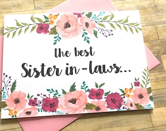 Pregnancy Announcement Card - Pregnancy Reveal to Sister in Law - New Aunt Auntie - We Are Having a Baby Card - I'm Pregnant - MULBERRY