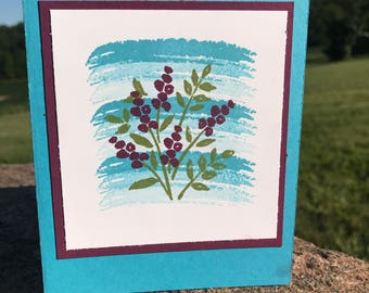 All Occasion Greeting Card - Floral Watercolor