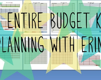 The Budget Kit for Life Management Planners