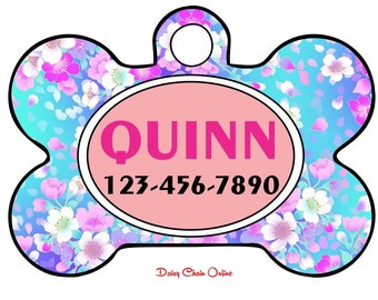 Personalized Pet Tag for Dog - Custom Dog Tag - Dog Tag for Dogs - Dog ID Tag - Pet Tags - Dog Mom Gift - Pet ID Tag - Pet Gift - Dog Tag ID