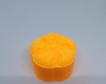 Pumpkin Mocha Latte Bath Bomb Flower