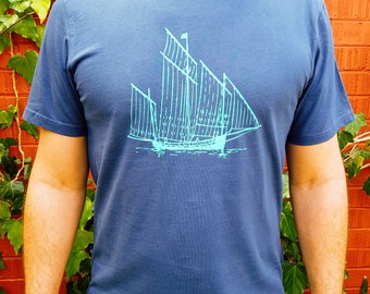 Schooner Men's T-shirt