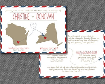Dr Who Inspired Wedding Invitations Time Travel Themed - Travel wedding invitations template