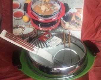Vintage 70's Tempura Cooking Set