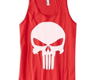 Punisher Tank tops, movie fun tanks, funny tanktops, funny shirts, muscle tanks, fitness tanks, gym tanks, motivation shirts, punisher shirt