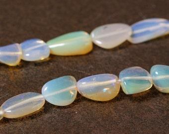 Ethiopian Opal  Graduated Oval Nuggets - Half strand