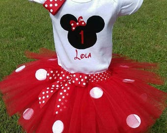 SALE!!  Minnie Mouse Tutu Outfit