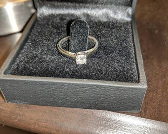 Tolkowsky Solitaire Ring 0.31 CT