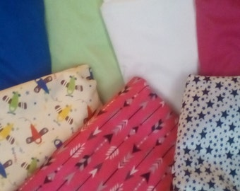 PUL Fabric by the yard Prints/ Solid