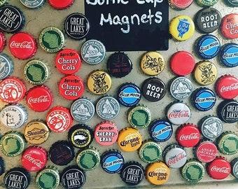 Beer Cap Magnet/Set of 12 variety