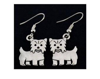 Yorkshire Terrier Charm Earrings