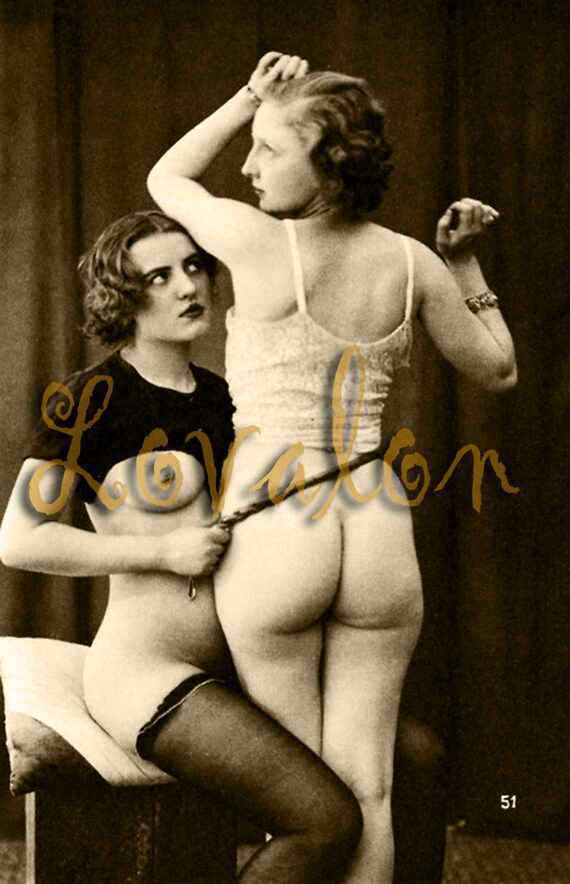 mature bad girl no spanking 1930's vintage nude