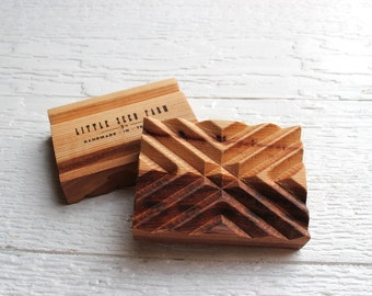 Signature Handmade Wooden Soap Dish