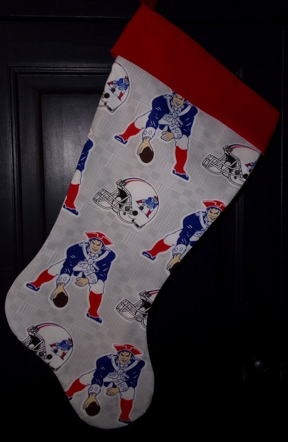 New England Patriot's Christmas Stocking